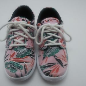 Vans Iso 1.5 Pink Light/True White Tropical Leaves